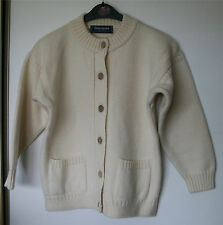 Ladies Wool Cardigan by Guernsey size 14/16