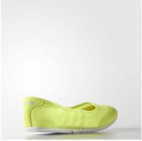 adidas Sunlina Women's Neo Green Summer Shoes Comfort Ballet Pumps Brand New Box
