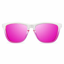 Gafas de Sol Mujer Polarizadas Vooglers California UV400 Lentes Rosa Moda Espejo