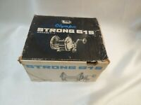 Olympic Strong 61S Vintage Reel Excellent ++ with Boxed From Japan