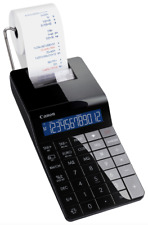 Canon X MARK 1 12 Digit Premium Printing Calculator Paper with Roll & Batteries
