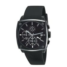 Puma Herren-Armbanduhr Shade Analog Plastik schwarz A.PU102591003, Neu, OVP