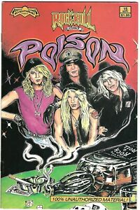 "Rock N'  Roll Comics #15 (1990) VF/NM-NM 1st Printing  ""Poison""  Loren - Fox"