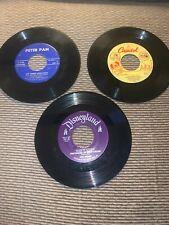 45 RPM Vinyl - 3 Orphan Kittens-Wringle Wrangle-The 3 Little Pigs - individual