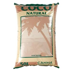Hydroponic Canna Coco Natural 50L 10 25 50 Litre Coir Growing Medium Bag