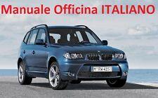 BMW  X3 E83  (2004-2010) Manuale Officina Riparazione ITALIANO