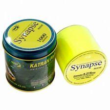 Katran Fishing Line Synapse NEON Carp 15lb Diameter 0.309 Low Memory 1000m