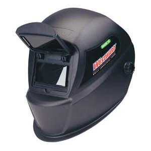 WESTWARD 4UZZ3 Passive Welding Helmet,10,Black