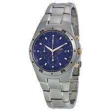 Seiko Titanium Chronograph Mens Watch SND449