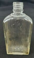 VINTAGE L&F Production Corp. Clear Bottle 5 Tall 2 Wide Made in USA