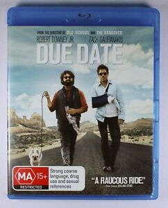 Due Date Blu Ray FREE POST