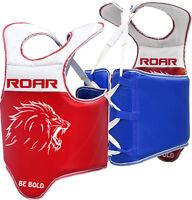ROAR Chest Guard Training Protector Belly MMA Gear Martial Arts Body Taekwondo
