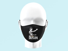 Bruce Lee Face Mask Personalised Kids Adults Washable Legend Martial Arts