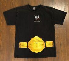 Vintage WWE World Heavyweight Championship Graphic Shirt Youth Size Large