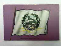 Vintage Postcard Official Flag of Scranton PA Pennsylvania