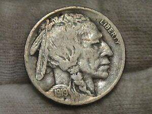 F/VF 1919-s Buffalo Nickel. #93