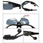 Cool Stereo Wireless Bluetooth Flip-up Sunglasses Music Headphone for Phone PC m
