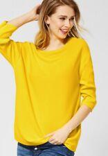 Street One-tú hombres suéter con U-Boot en Shiny Yellow