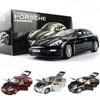 1:18 Porsche Panamera Metal Diecast Model Car Toy Collection 4 Open doors UK