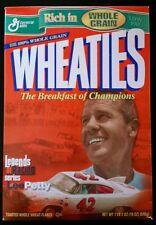 "Lee Petty ""Legends of Racing"" WHEATIES Box - NASCAR (unopened) Racing"