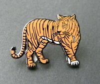 TIGER ANIMAL BIG CAT LAPEL PIN BADGE 1 INCH
