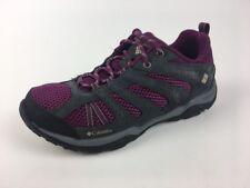Columbia Dakota Drifter Hiking Shoes Woman's Sz 7.5. Dark Raspberry Color.