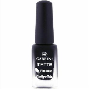 Gabrini matte Flat brush nail polish 13 ml