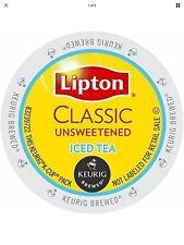 Keurig LIPTON Unsweetened Iced Tea 12 K-Cups Classic