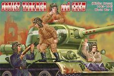 Orion 1/72 Soviético tankmen y tripulación de la Segunda Guerra Mundial Nº 72042