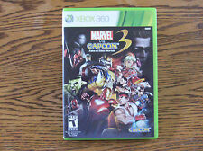 Marvel vs. Capcom 3: Fate of Two Worlds Complete XBOX 360 Video Game