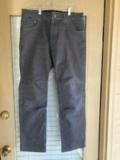 Men's Kuhl Vintage Patina Dye Black Pants 33 x 32