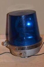 EDWARDS ADAPTABEACON 52B-N5 120v FLASHING WARNING SIGNAL BLUE LIGHT motorized