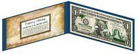 TEXAS State $1 UNC Bill Genuine Legal Tender U.S. One-Dollar GRN Banknote