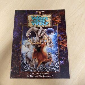 Ways of the Wolf Lupus Sourcebook White Wolf Games Werewolf The Apocalypse 1993