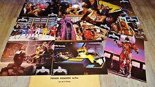POWER RANGERS  ! jeu 10 photos cinema lobby cards fantastique 1995