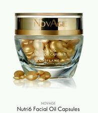Oriflame NovAge Nutri6 Facial Oil Capsules RRP 38.00 New *Sale*