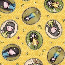 Gorjuss Birds of a Feather -  Girl Cameos – Sunny Yellow by Santoro of London