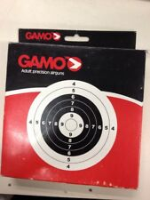 Gamo Paper Air Gun Pistol Rifle Targets 100 Pack Pellet Traps Target