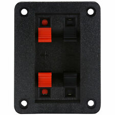 Speaker Wire Terminal Plate with 550 Hz High Pass Filter