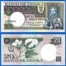 Angola 20 Escudos 1973 Prefix 2A Africa Plant Carmona FREE Shipping Worldwide