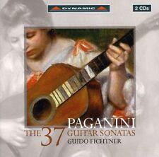 Guido Fichtner - 37 Guitar Sonatas [New CD]