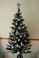 new 5 ft led fibre optic christmas indoor tree 190 tip 75 decorations