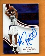 MITCH RICHMOND 2015-16 PANINI IMMACULATE INK RED AUTO /25