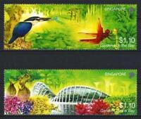 Singapour 2012 Jardins de la baie n° 1907 et 1908 neuf ** MNH