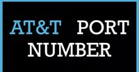 AT&T ATT Numbers to Port Any Zip Code SUPER FAST Delivery BULK Deals Message Us.