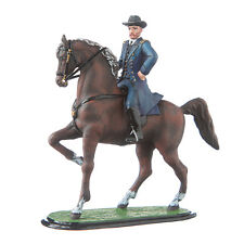 Tin Toy Soldier Civil War Northerners General Ulysses Grant on His Horse #cw01a