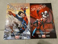 Spider-Man TPB Lot The Parker Luck & Graveyard Shift Marvel Comics Volumes