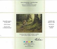 2005 Canada Quebec  Wildlife Habitat Conservation  -DQ46s signed   Mint NH