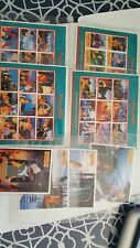 """Guyana 1995 Disney """"Pocahontas"""" 8- Sheets Stamps Mnh w/ Cert. Of Authenticity"""