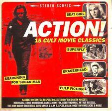 MOJO Presents Action! 15-track CD Broadcast Rodriguez John Barry David Lynch